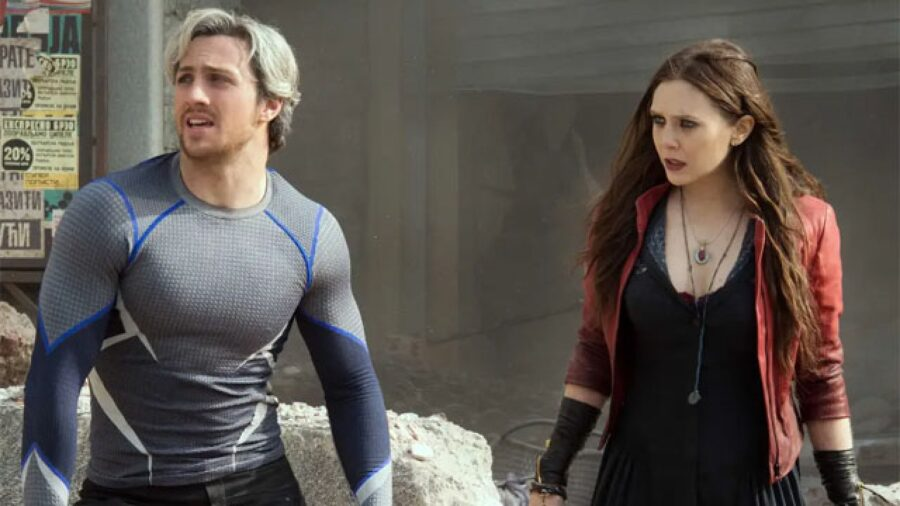 Avengers Ultron Quicksilver Scarlet Witch
