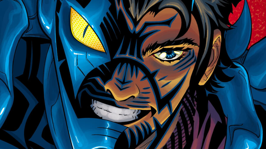 Blue Beetle Movie With Latino Lead Happening