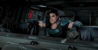 Gina Carano The Mandalorian Disney Plus