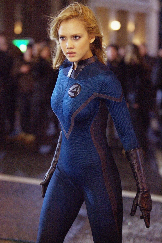 Jessica Alba as The Invisible Woman.