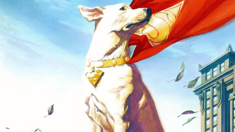 krypto superdog dc james gunn