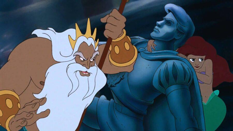 King Triton The Little Mermaid
