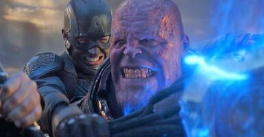 Avengers: Endgame Thanos Captain America