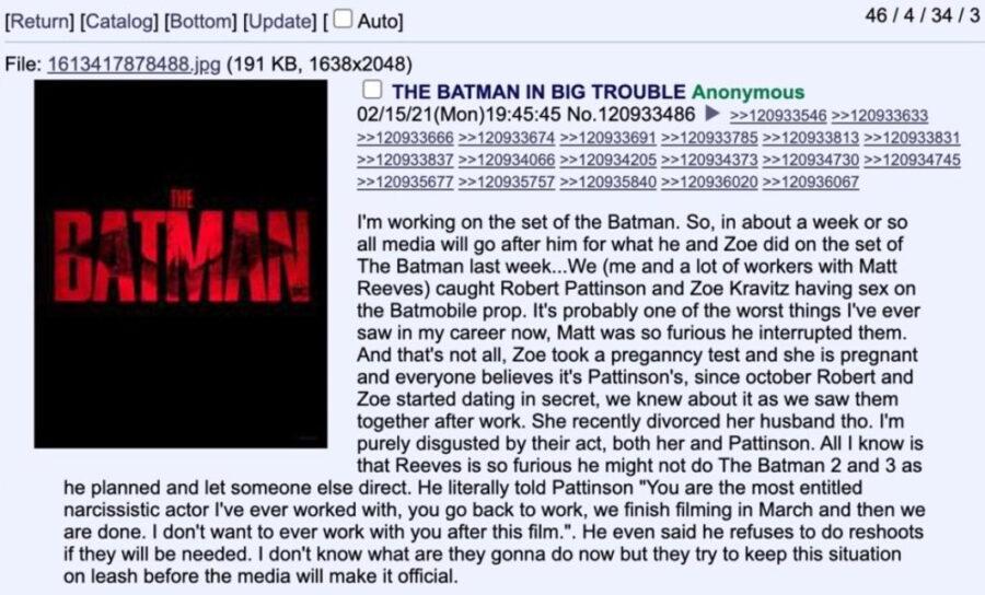 the batman 4chan