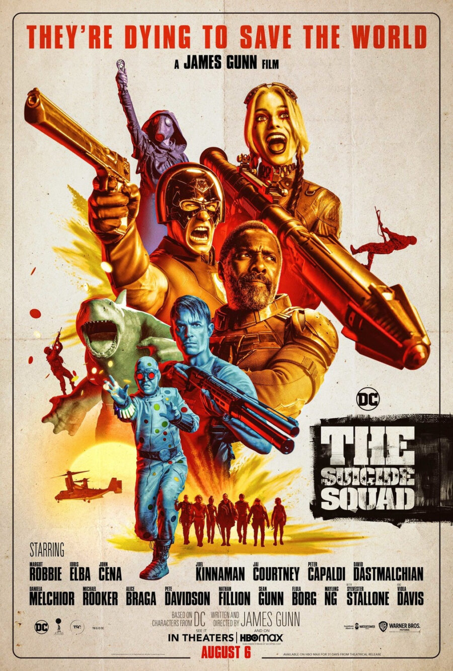 the suicide squad poster dirty dozen