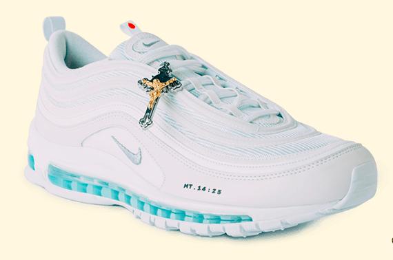 nike satan shoes jesus shoes