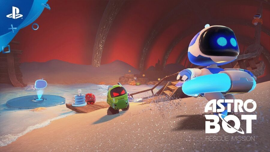 Free Playstation Game Astro Bot