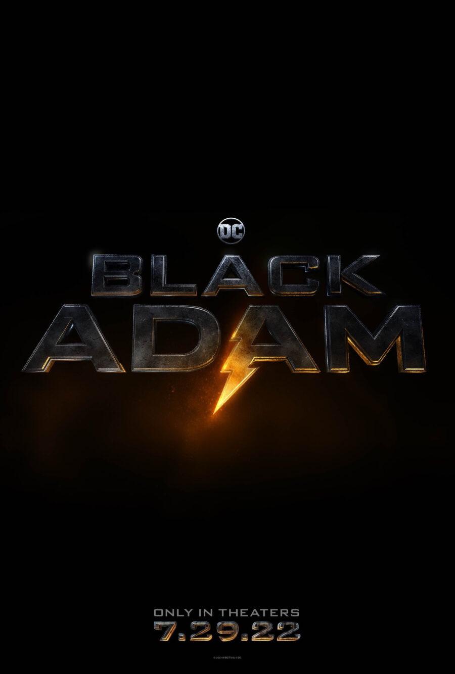 black adam poster dwayne johnson