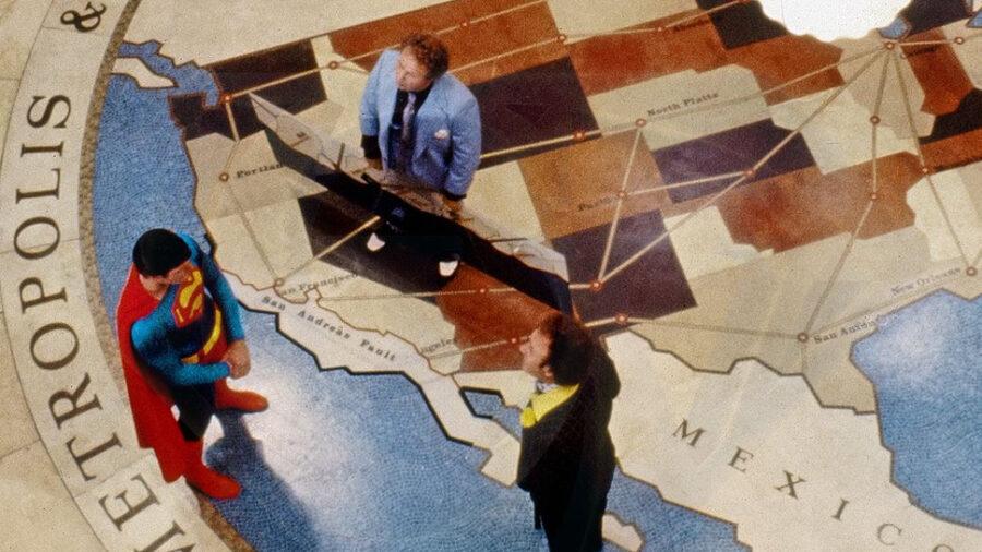 lex luthor california superman