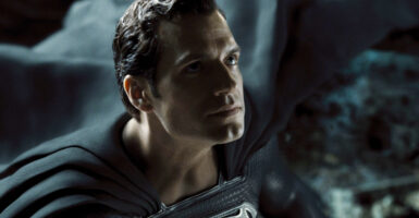 superman black suit henry cavill