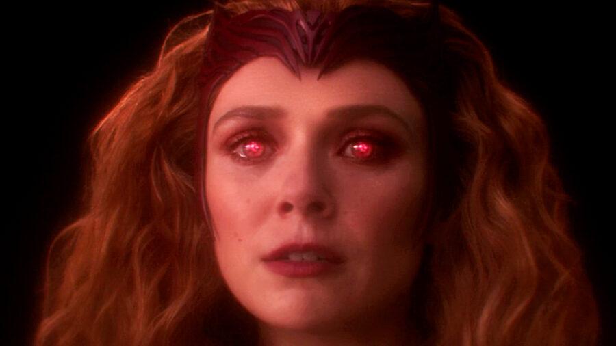 wandavision finale post-credits scarlet witch