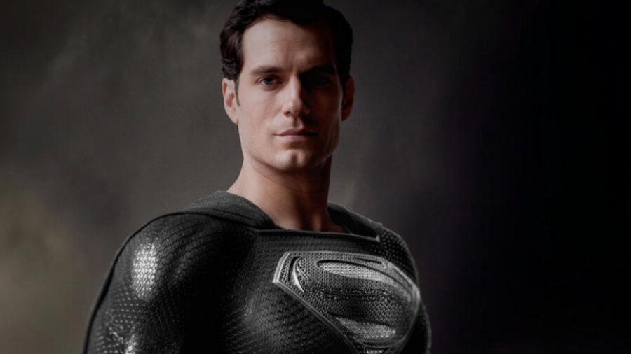 zack snyder superman black suit henry cavill