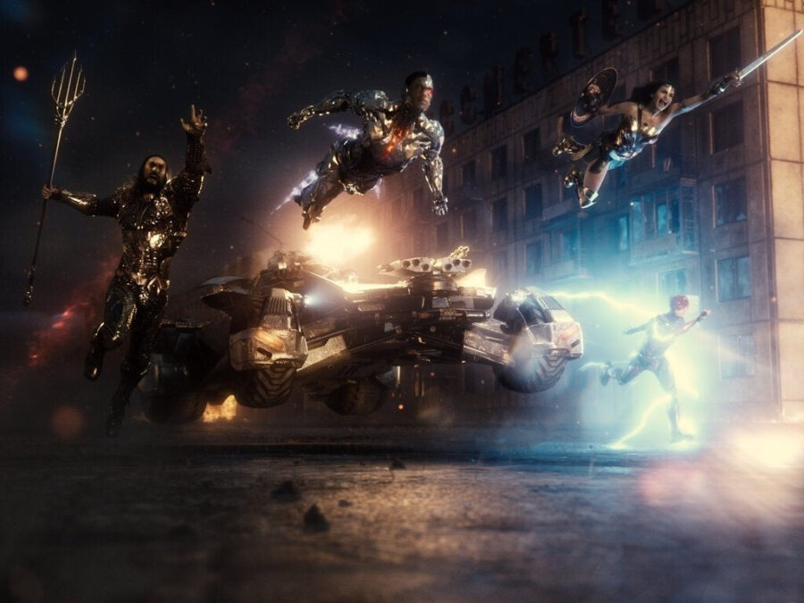 zack snyder's justice league group