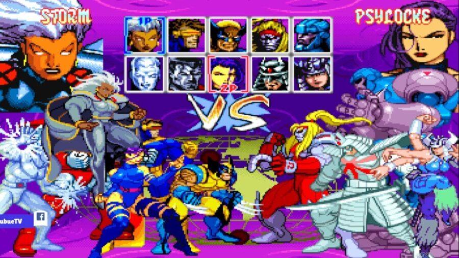x-men children of the atom marvel game
