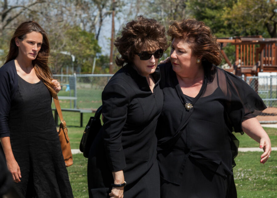 funeral scene in august osage county