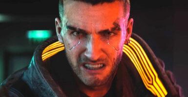 cyberpunk 2077 face