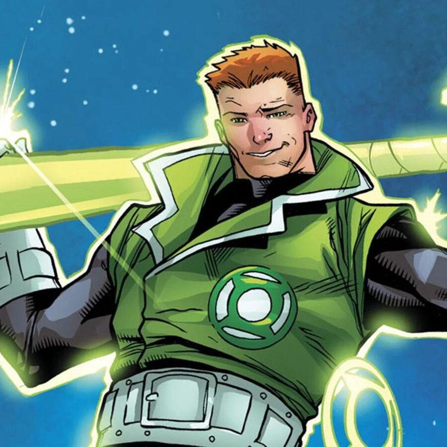 green lantern series guy gardner