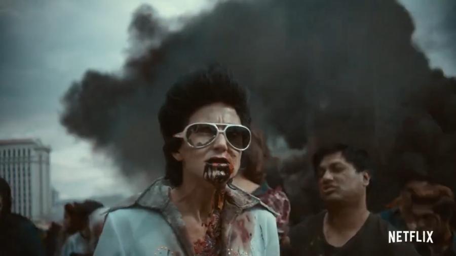 Zombie Elvis impersonator
