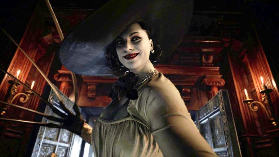 resident evil 8 vampire lady knives