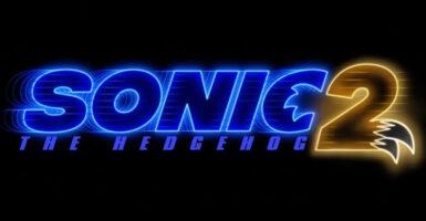 sonic the hedgehog 2 logo knuckles