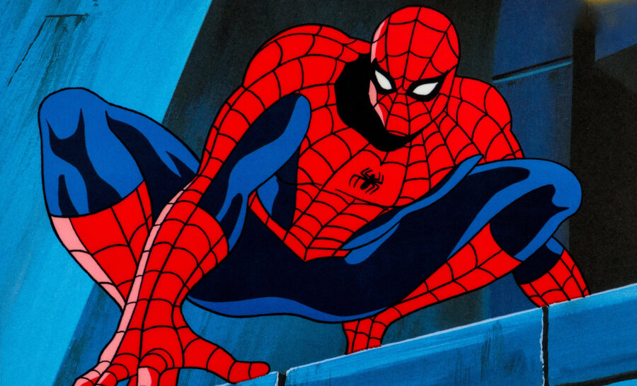 spider-man into the spider-verse 2 animated