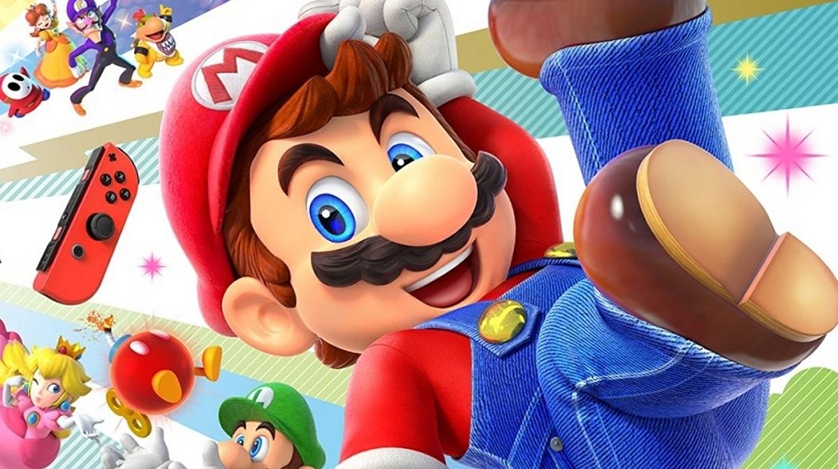 super mario party game cover