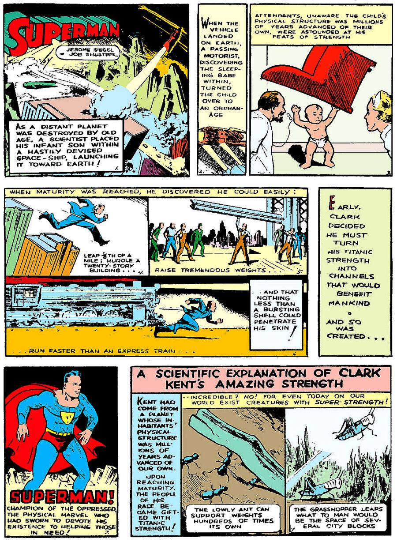 superman comic action comics 1