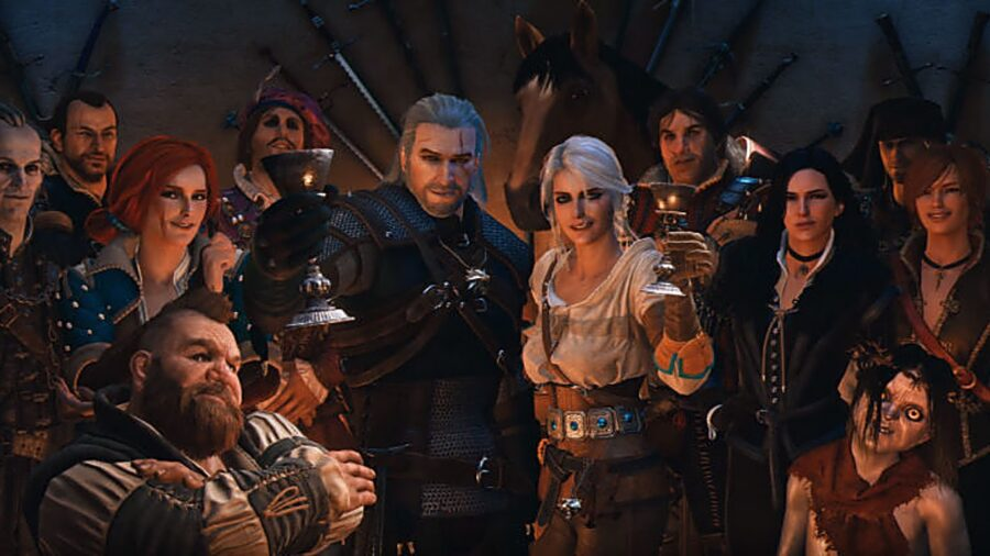 witcher game characters