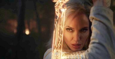 Angelina Jolie Eternals Thena