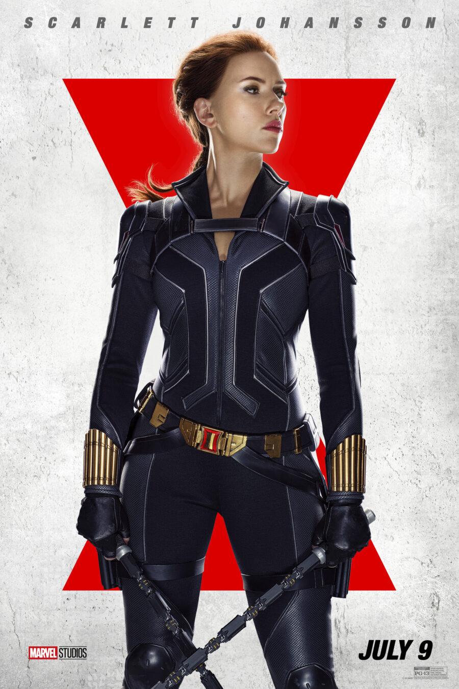 Scarlett Johansson black widow poster