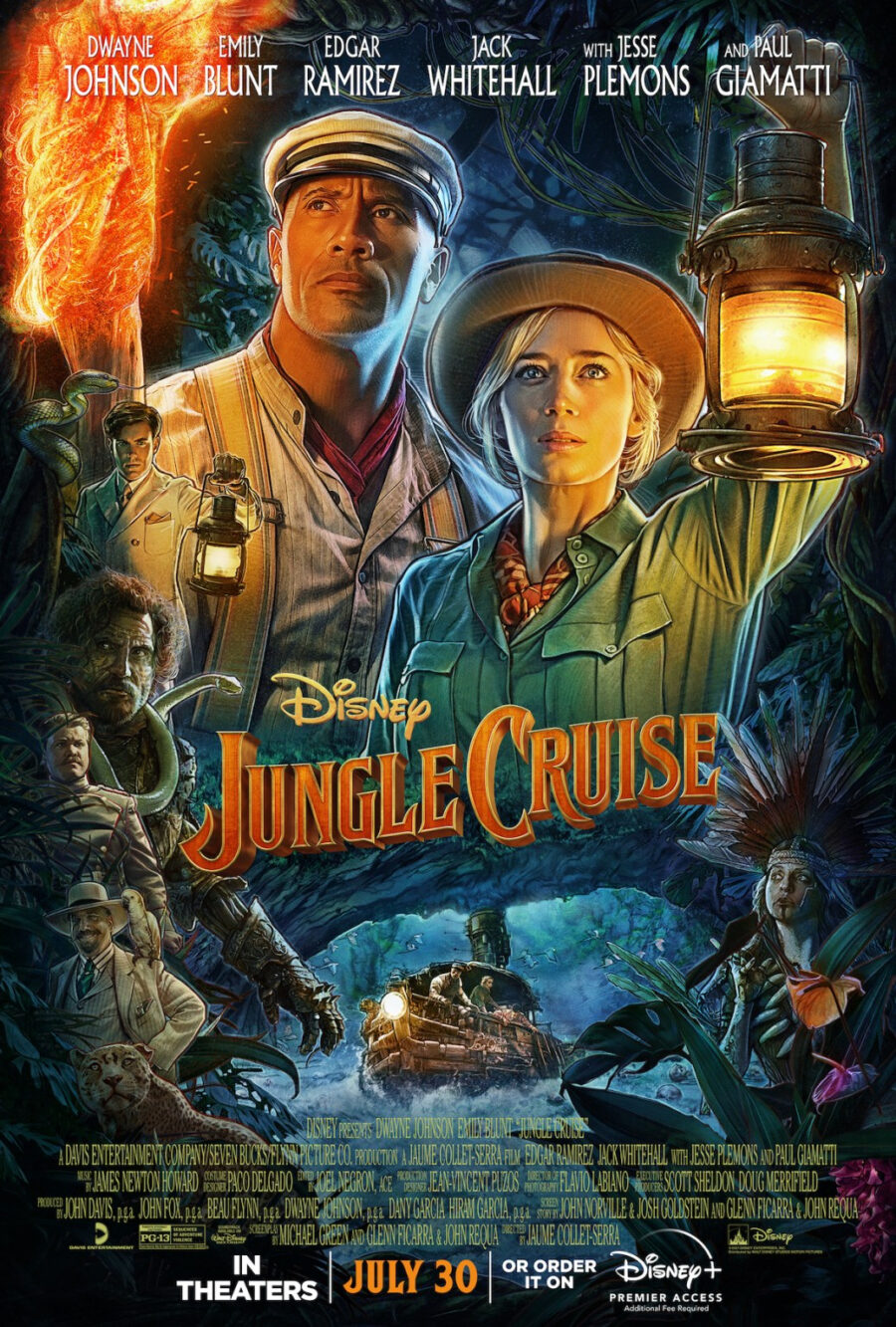 jungle cruise poster dwayne johnson