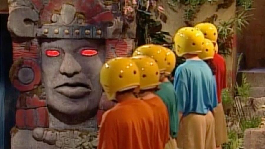 legends of the hidden temple show