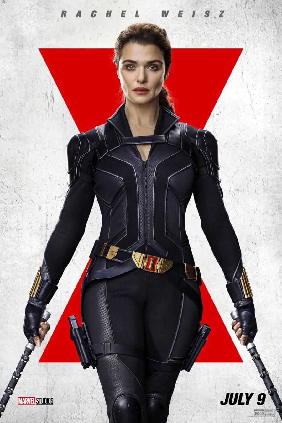 rachel weiss black widow poster