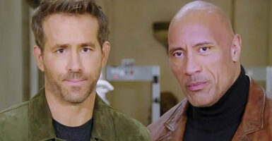 ryan reynolds dwayne johnson