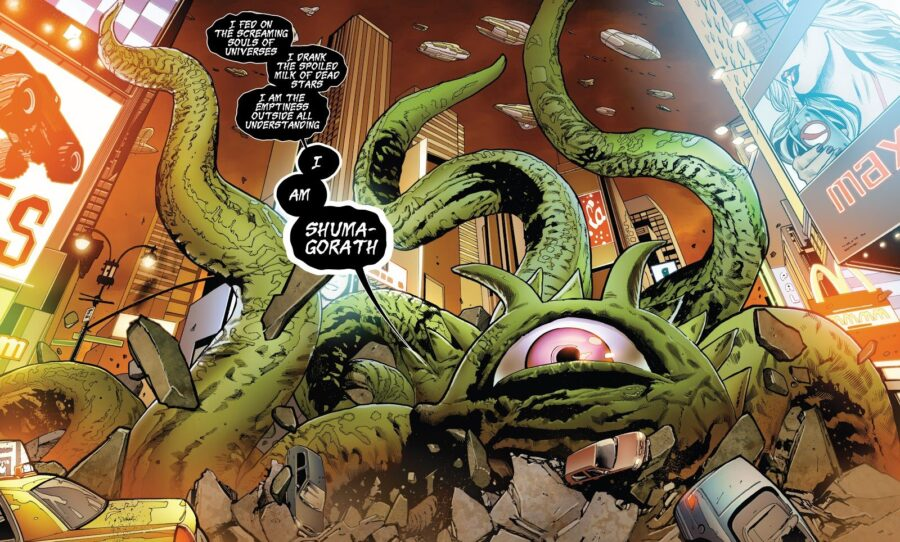 shuma-gorath doctor strange 2 villain