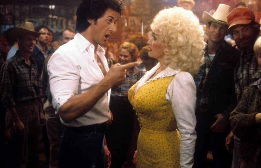 stallone and dolly in rhinestone