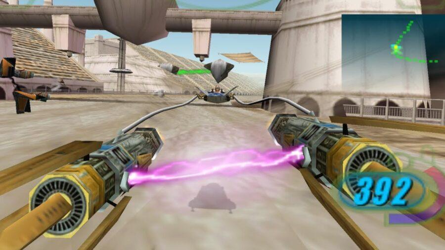 star wars racer video game