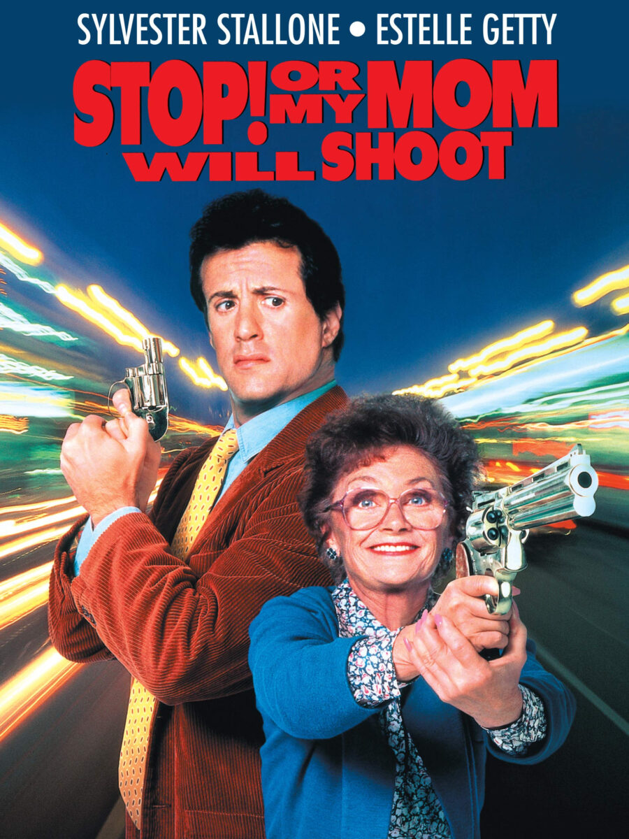 stop or my mom will shoot poster