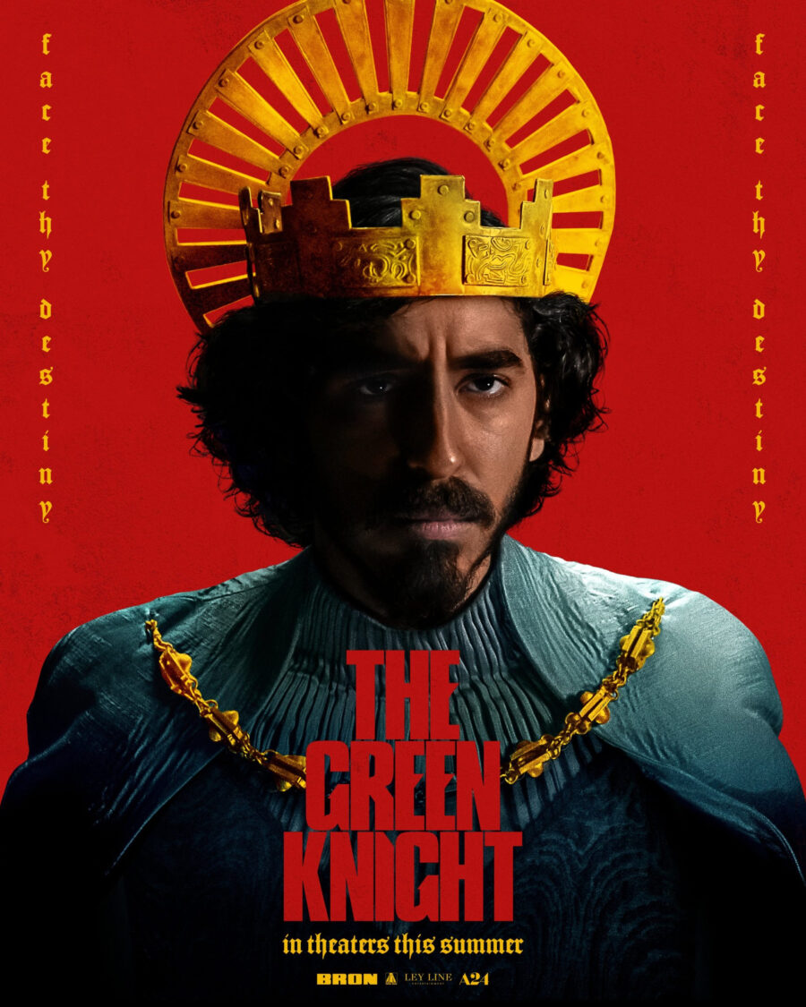 the green knight trailer poster