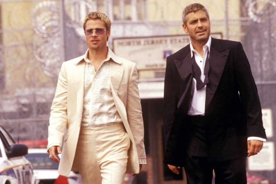 Oceans Brad Pitt George Clooney