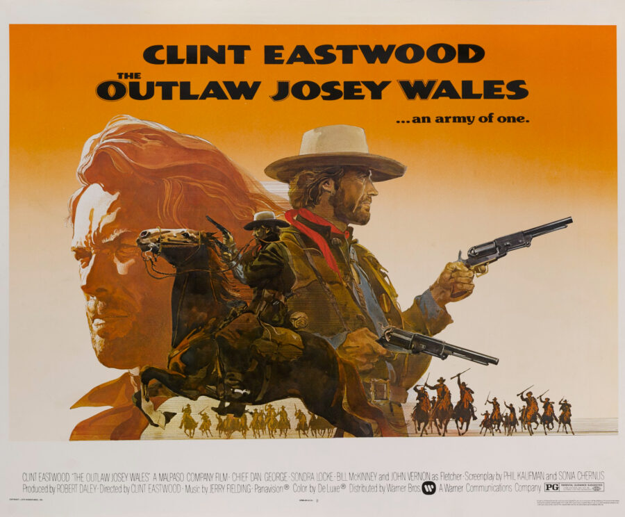 clint eastwood josey wales poster