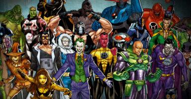 dc supervillains