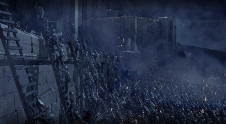 Helm's Deep Lord of the Rings The Two Towers