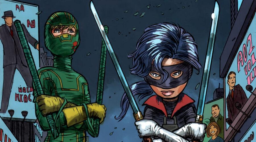 Kick-Ass comics from Mark Millar