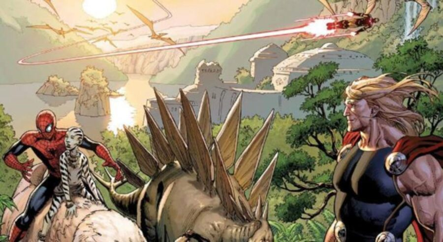 The Savage Land in Marvel