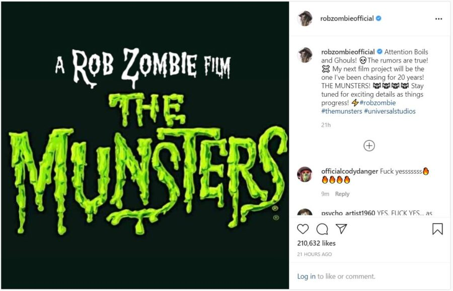rob zombie munsters