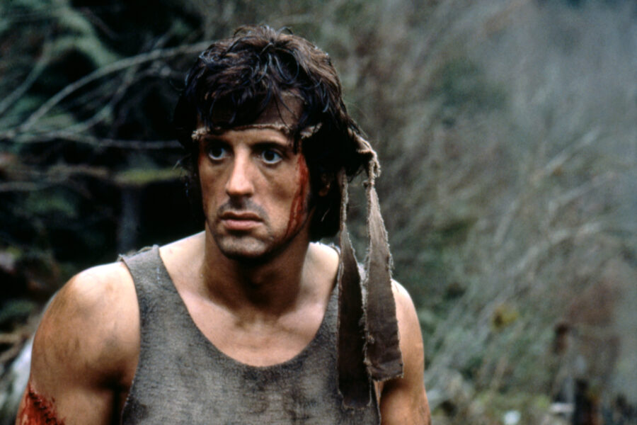sylvester stallone first blood rambo