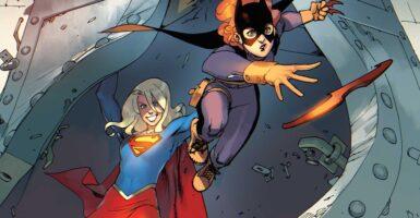 batgirl vs. supergirl
