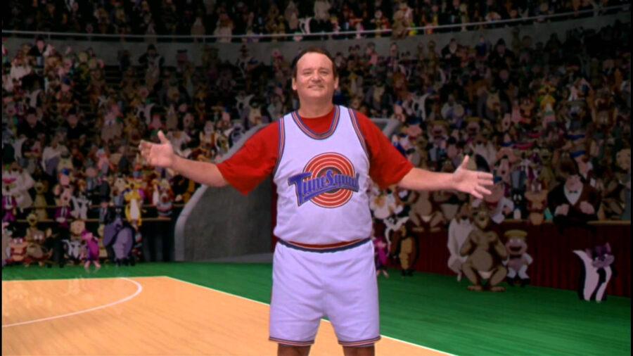bill murray space jam jersey
