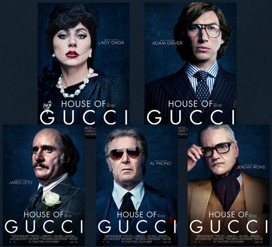 house of gucci posters